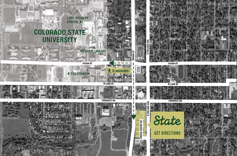 State | Studio,1,2,3 & 4 BR Apartments by Colorado State Univ.