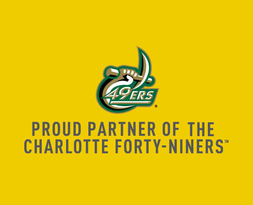Proud partner of the Charlotte Forty-niners