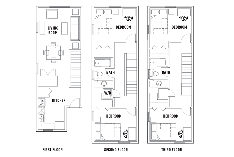 Floor Plans Park Point Rochester Student Housing Rochester NY