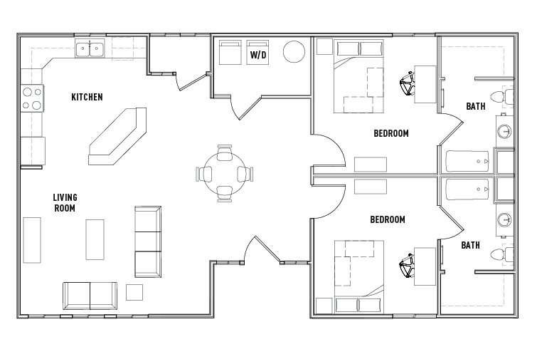 Floor Plans The Province Tampa Student Housing Tampa Fl