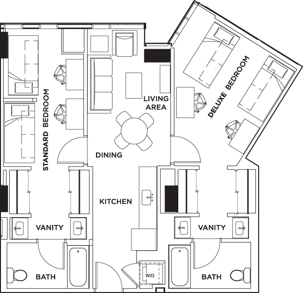 Floor Plans The Summit At University City Student