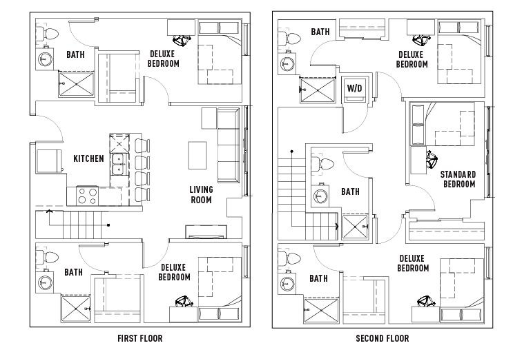 The James | View All Floor Plans | Apts