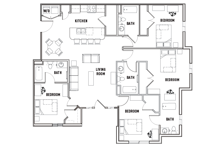 floor plans the province tampa student housing tampa, fl