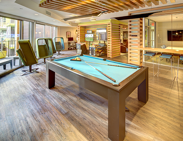 24-hour recreation center with billiards & video gaming consoles at 2125 Franklin
