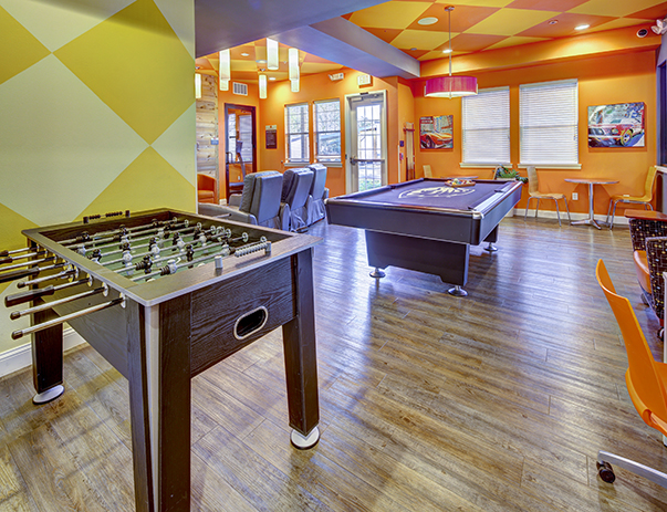 Recreation Room of 7th Street Station near Oregon State University in Corvallis, OR 97333