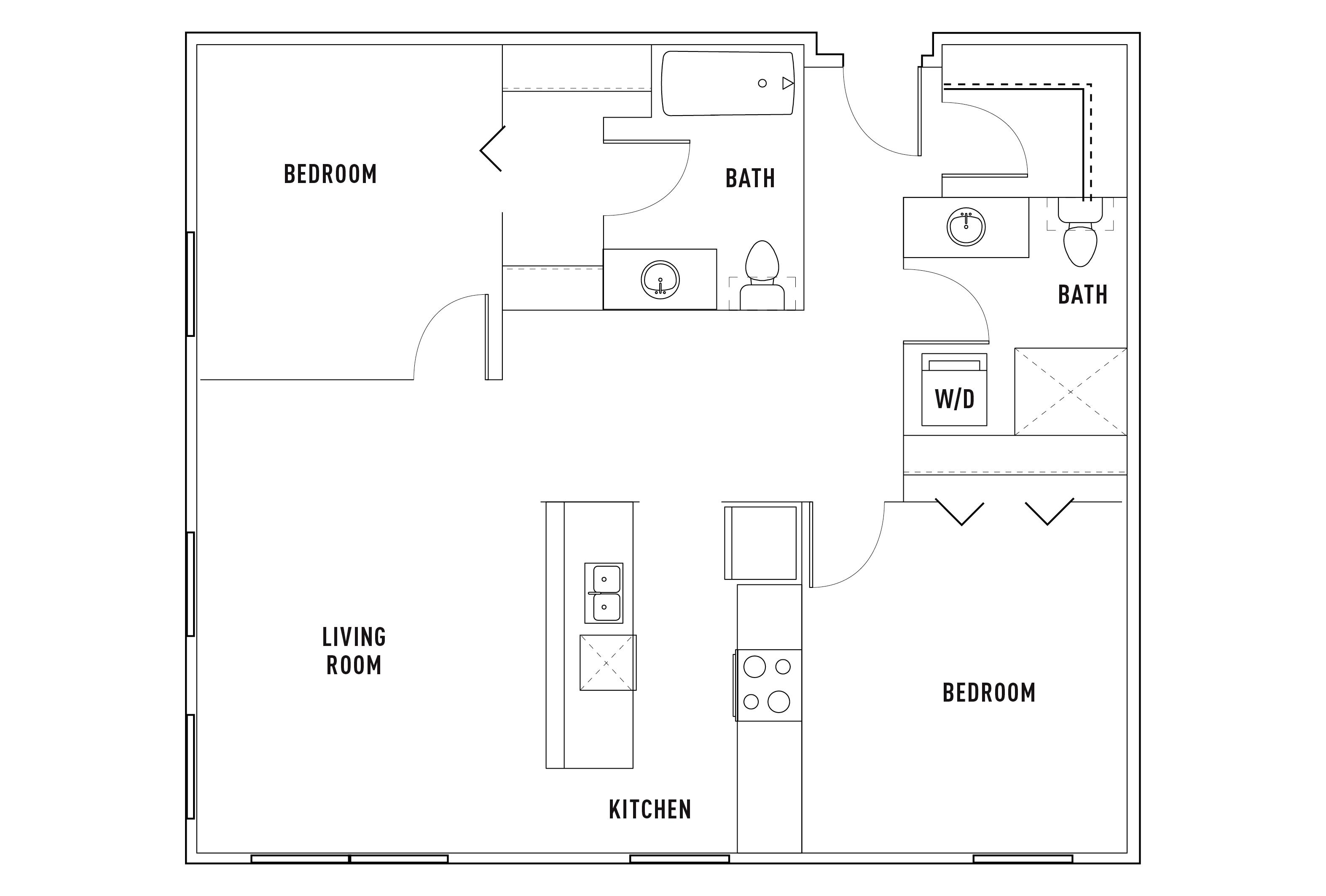 Floor Plans Bridges 11th Seattle Apartments