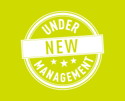 Under new management.