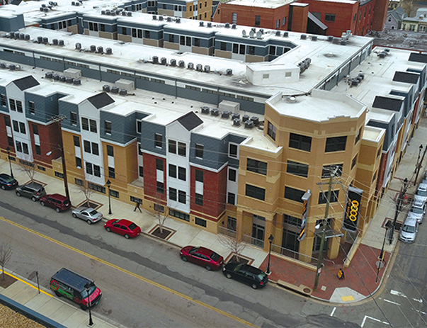 Exterior view of 1200 West Marshall in Richmond, VA near VCU