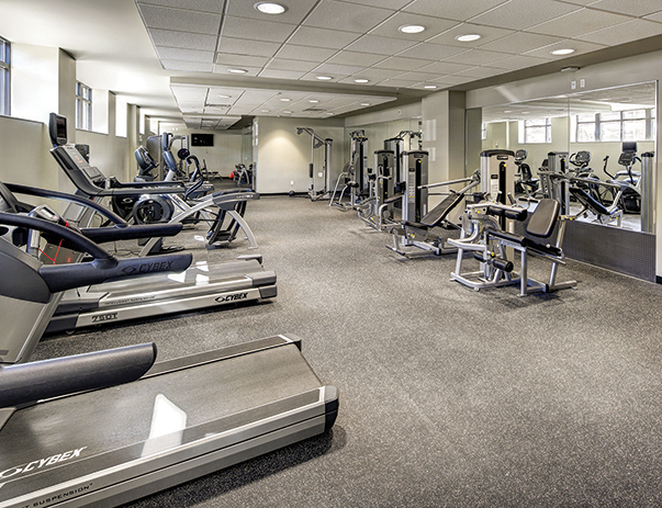 Fitness center of 1200 West Marshall in Richmond, VA near VCU