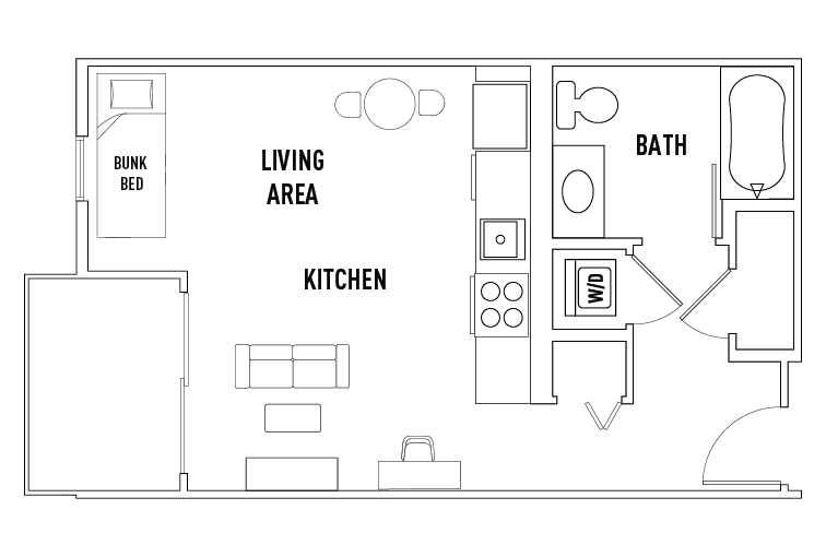 Floor Plans West 27th Place Student Housing Los Angeles CA