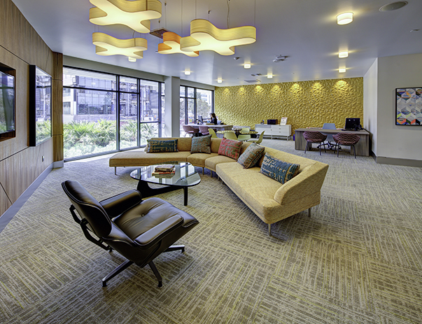 Group & private study lounges at Currie Hall