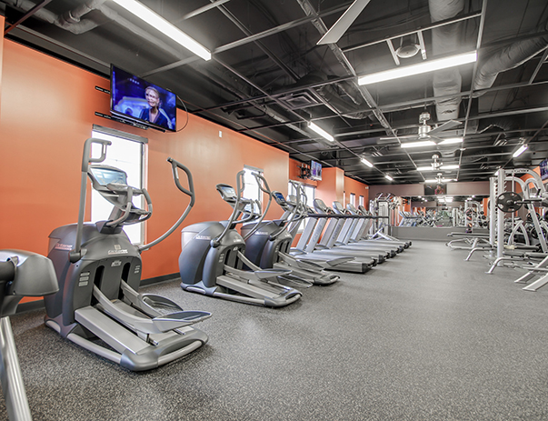 Fitness center at University Village