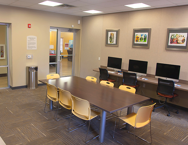 Computer Center with iMacs at University Village