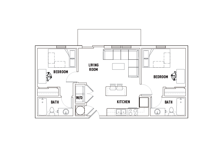 2 Bed - 2 Bath B - Phase 2