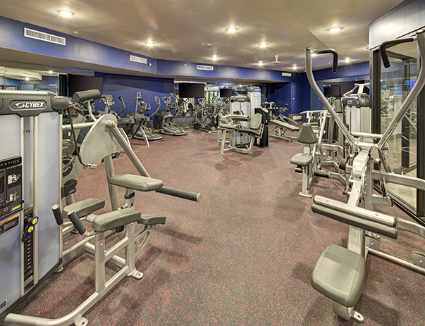 Fitness Center at The Tower at Third