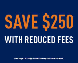 Save $250 with RF