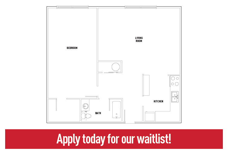 303 Welch - 1 Bed - 1 Bath