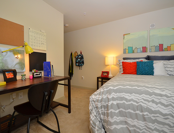 Fully furnished, private bedroom at The Varsity