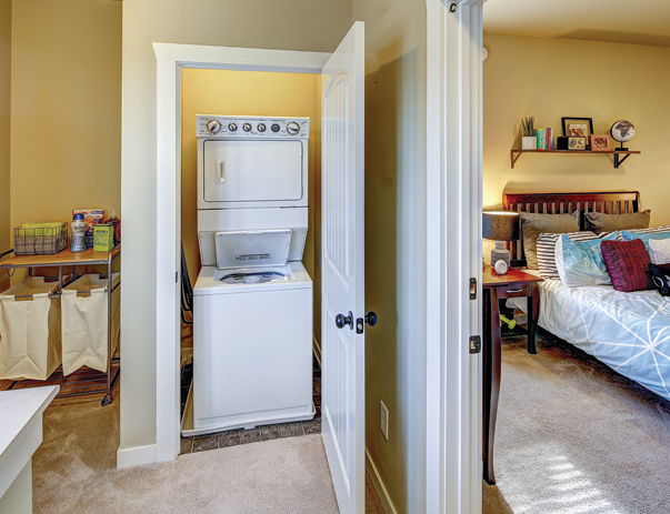 The Cottages of Durham - Apartment Washer & Dryer