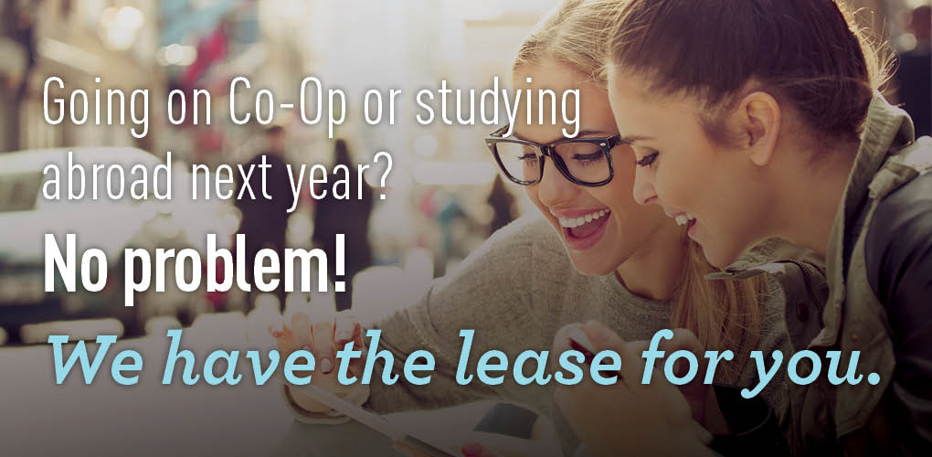 Going Co-Op? We got the lease for you!