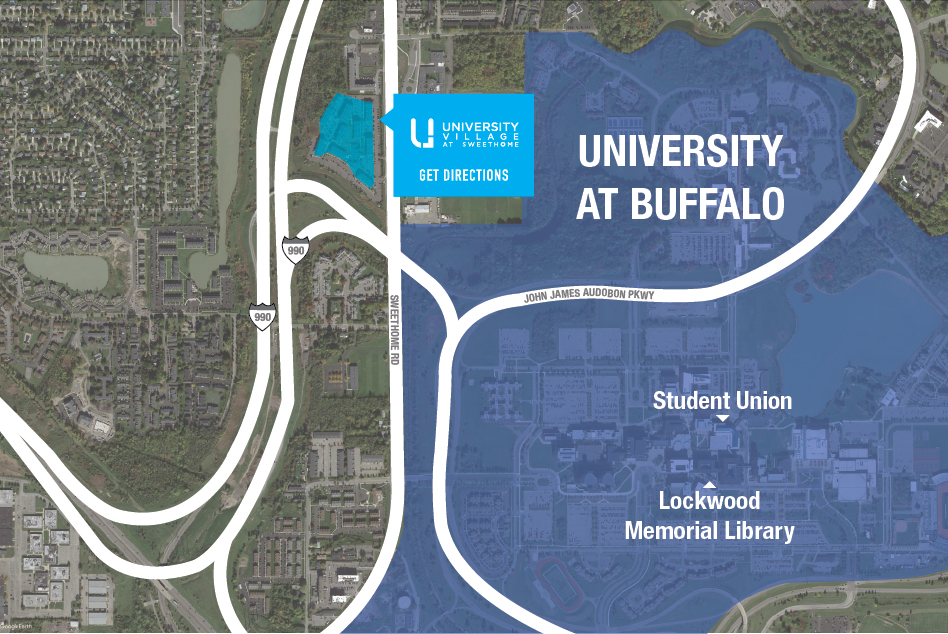 University Village | Apartments near University at Buffalo