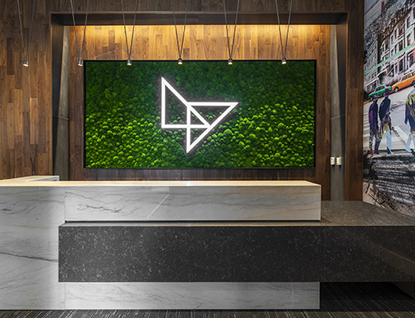 Front desk at LightView