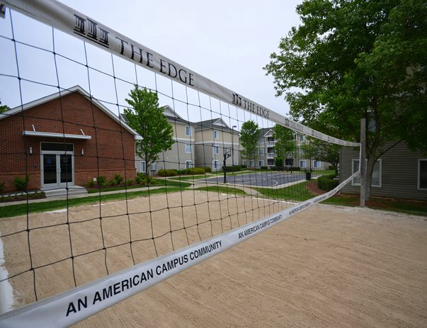 Sand volleyball at The Edge