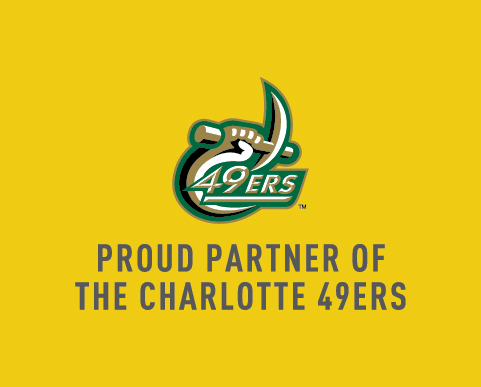 Proud Partner of the Charlotte 49ers!