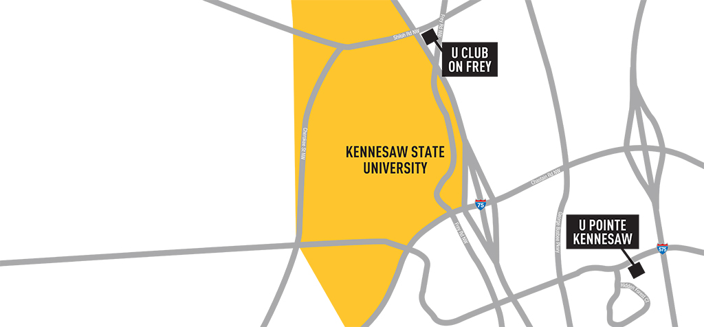 Student apartments near Kennesaw State University | American Campus