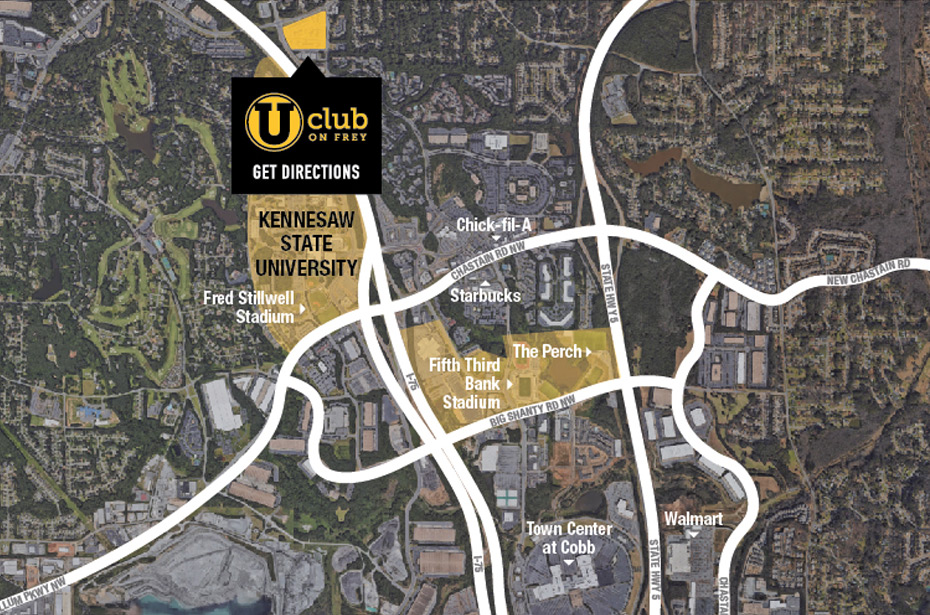 Club On Frey 4 Br Townhouses Flats By Kennesaw State Univ