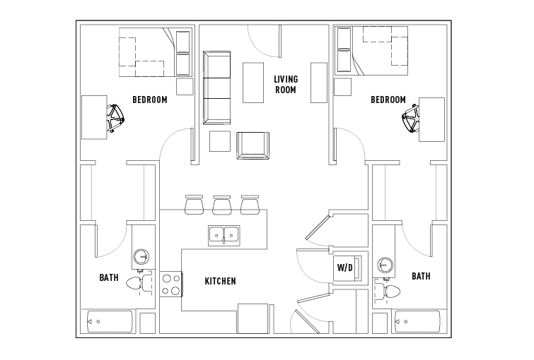 Floor Plans Stadium Centre Student Housing Tallahassee FL