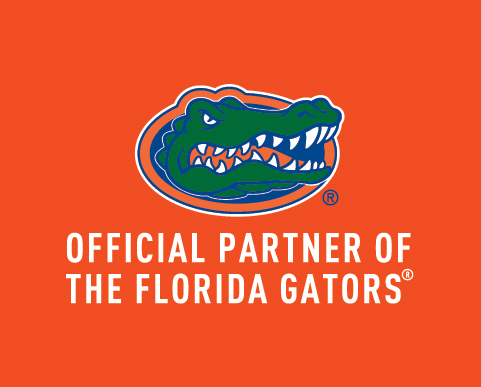 Official Partner of The Florida Gators at the University of Florida