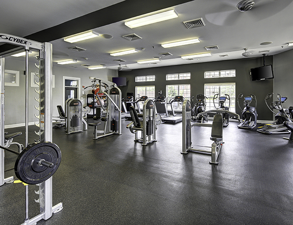 Fitness center at 5 Twenty Four & 5 Twenty Five Angliana