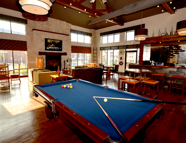 Game room at The Province