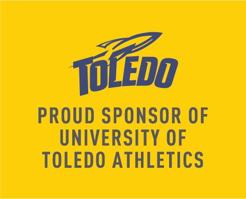 Toledo - Proud Sponsor of University of Toledo Athletics