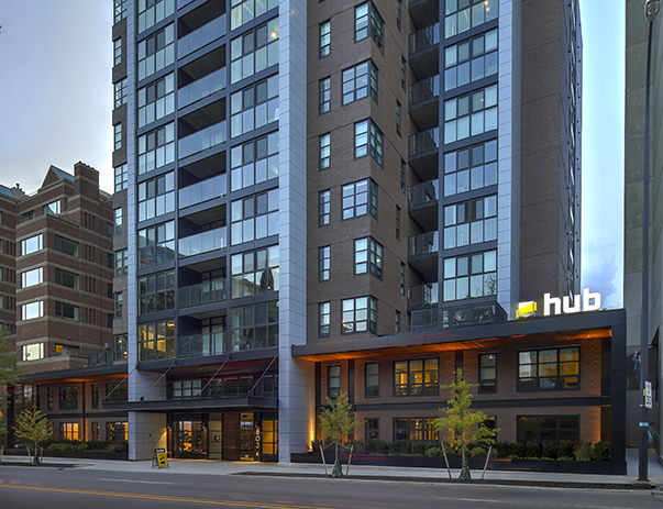 Hub Ann Arbor | 2 -3 BR Apartments near Univ. of Michigan