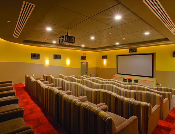 Theater room at Vista del Sol & Villas at Vista del Sol