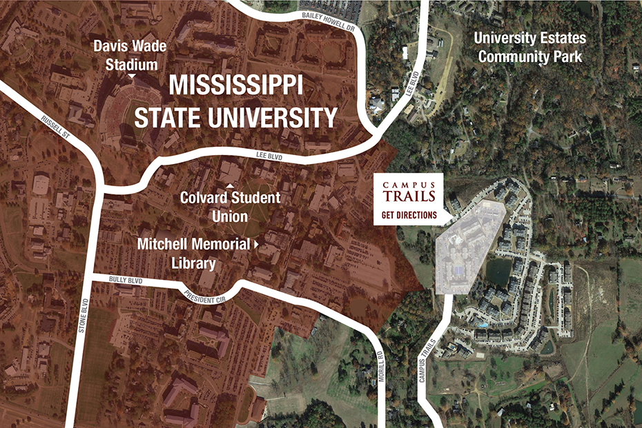 Campus Trails 2 4 Br Apartments By Mississippi State Univ