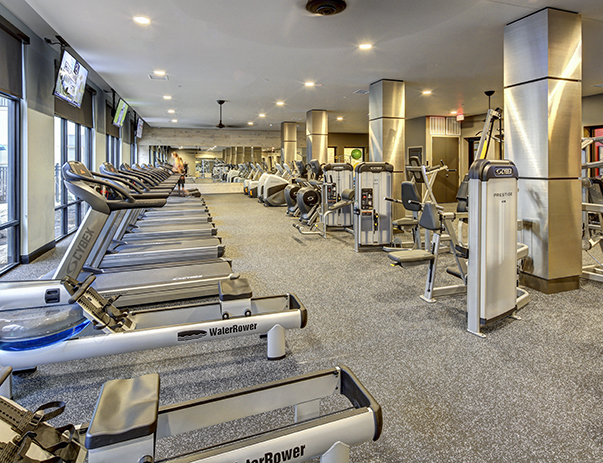 Fitness Center at Callaway House Apartments