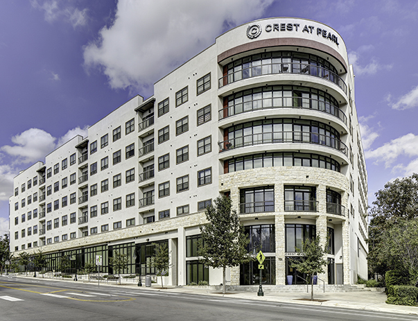 Exterior view of Crest at Pearl