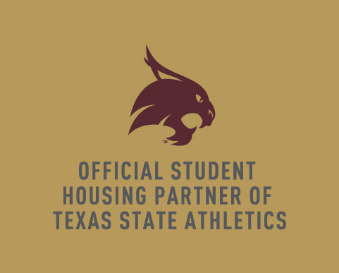 Official Student Housing Partner of Texas State Athletics
