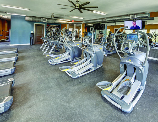 Fitness Center at Vistas San Marcos near Texas State University in San Marcos, TX 78666