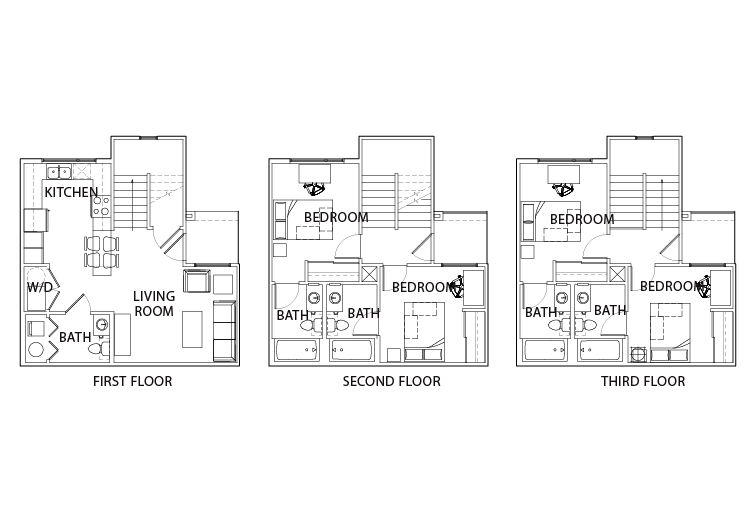 Stunning Villas Floor Plans Images Flooring amp Area Rugs