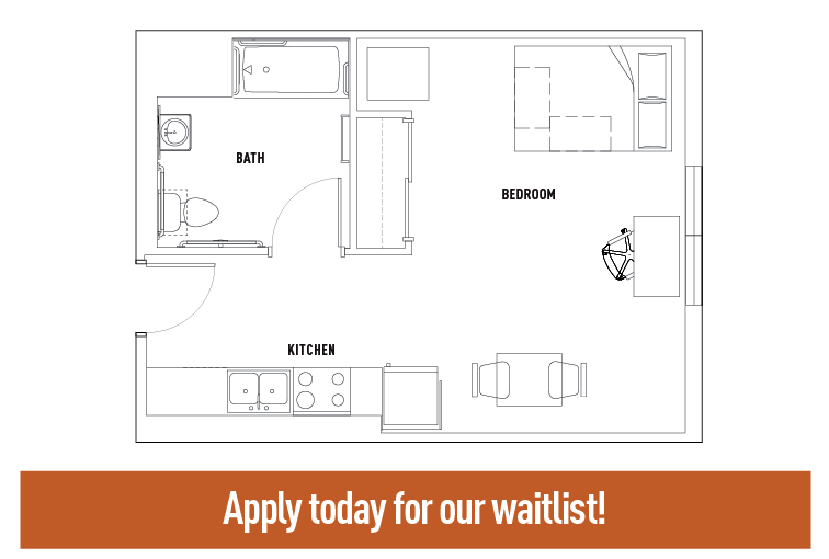 Deluxe Studio Apartment - SMART