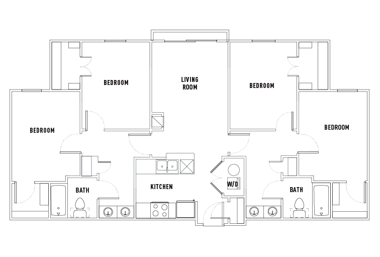 Floor Plans 26 West Student Housing Austin TX – Student Housing Floor Plans