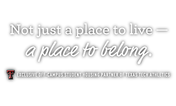 Not just a place to live - a place to belong.