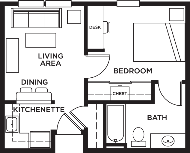 1 Bedroom Apartments College Station Notting Hill 11 Small One Bedroom 1 Apartment College