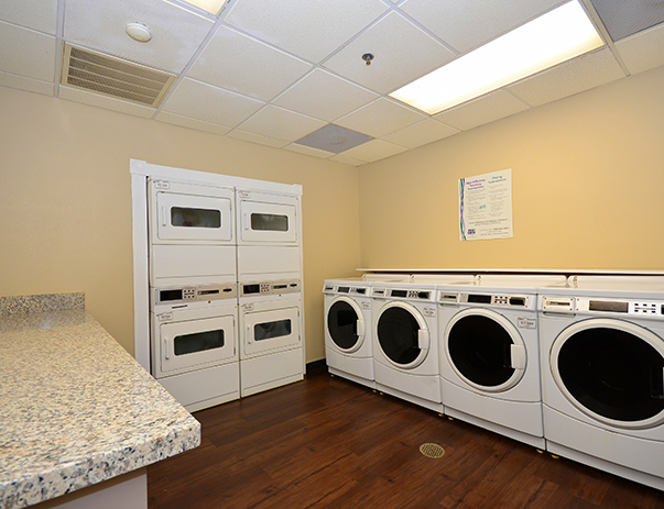 Laundry room at The Callaway House College Station