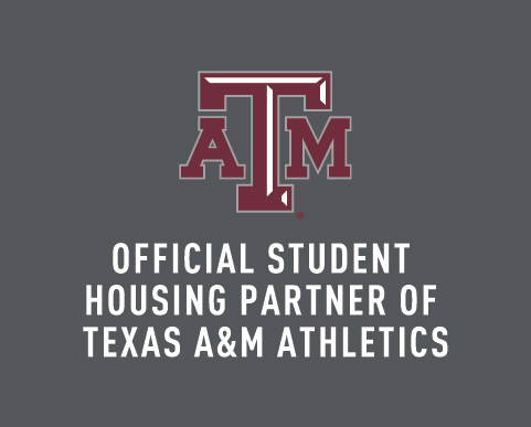 Official Student Housing Partner of Texas A&M Athletics
