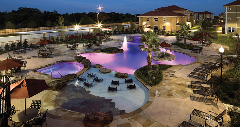 College station student apartments near texas a m - Swimming pools in college station tx ...
